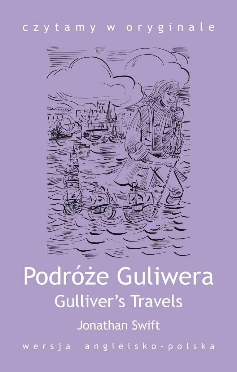 Gulliver's Travels / Podróże Guliwera - Ebook (Książka na Kindle) do pobrania w formacie MOBI