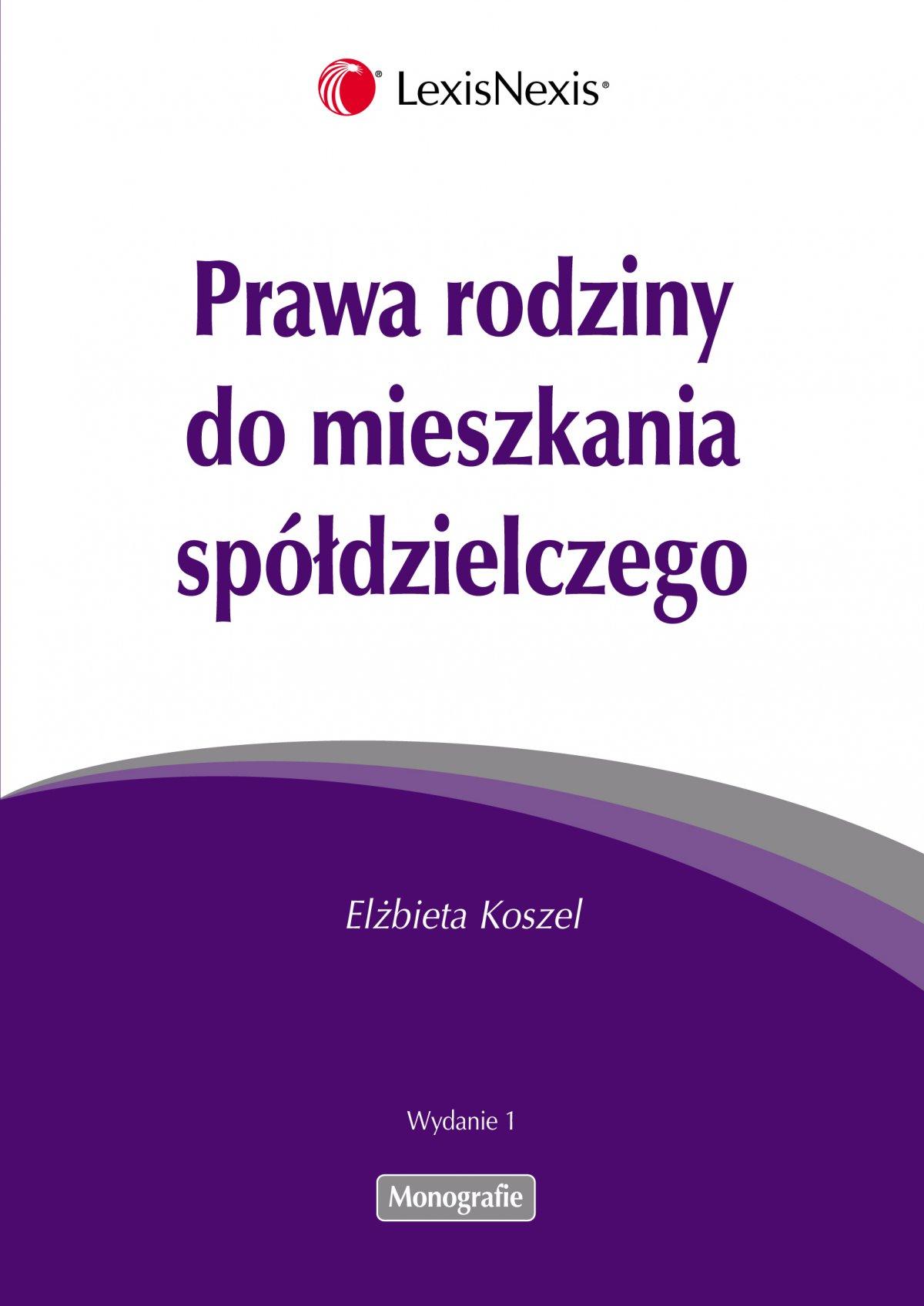 Prawa rodziny do mieszkania spółdzielczego - Ebook (Książka EPUB) do pobrania w formacie EPUB