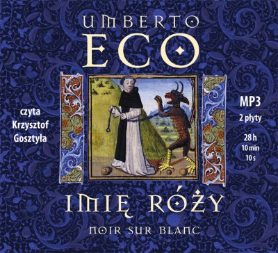 Imię róży - Audiobook (Książka audio MP3) do pobrania w całości w archiwum ZIP