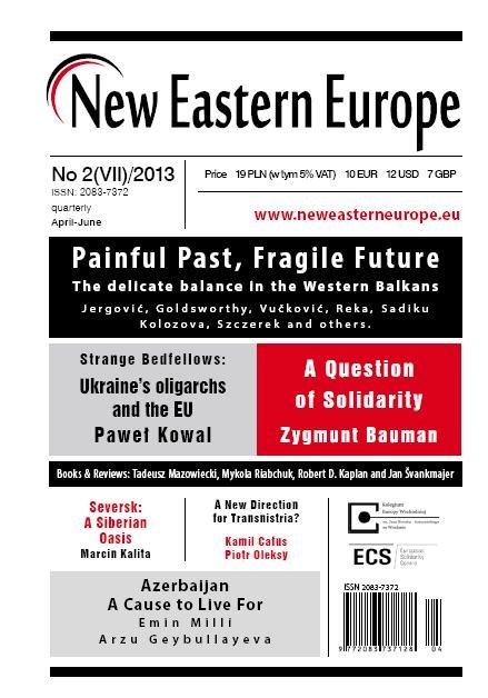 New Eastern Europe 2/2013 - Ebook (Książka EPUB) do pobrania w formacie EPUB