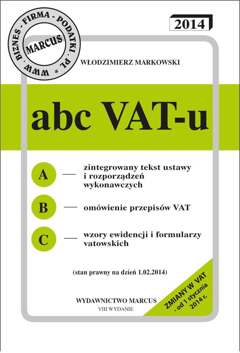 ABC VAT-u 2014 - Ebook (Książka EPUB) do pobrania w formacie EPUB