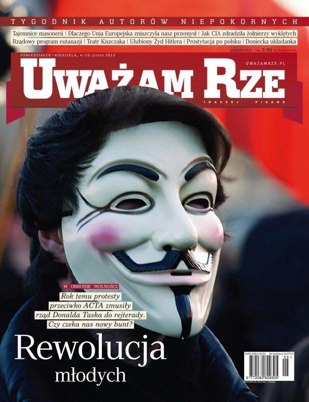 """""""Uważam Rze. Inaczej pisane"""" nr 5/2013 - Ebook (Książka PDF) do pobrania w formacie PDF"""