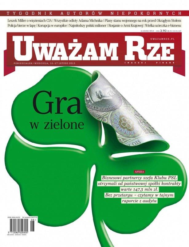 """""""Uważam Rze. Inaczej pisane"""" nr 6/2013 - Ebook (Książka PDF) do pobrania w formacie PDF"""