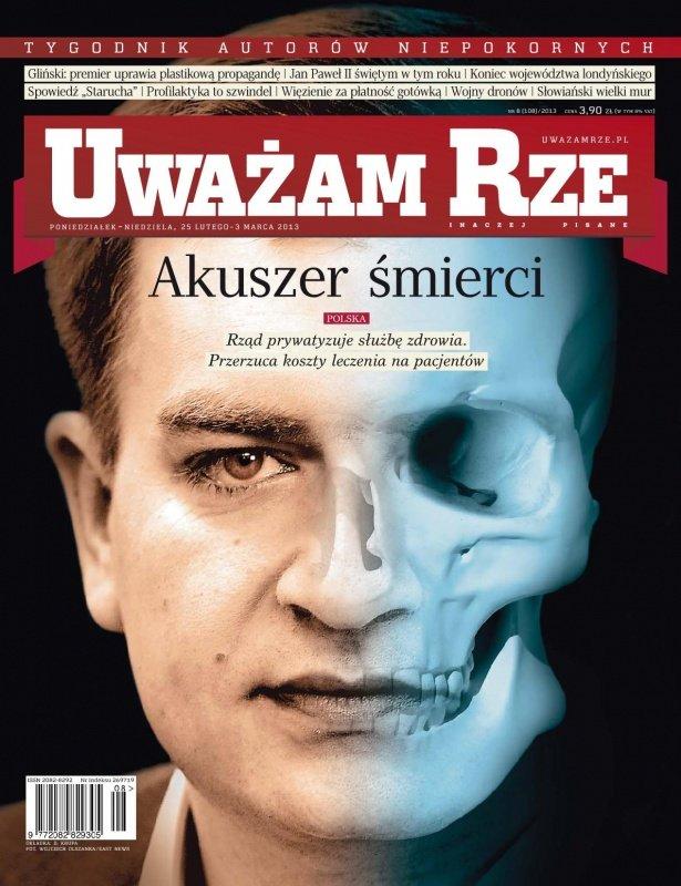 """""""Uważam Rze. Inaczej pisane"""" nr 8/2013 - Ebook (Książka PDF) do pobrania w formacie PDF"""