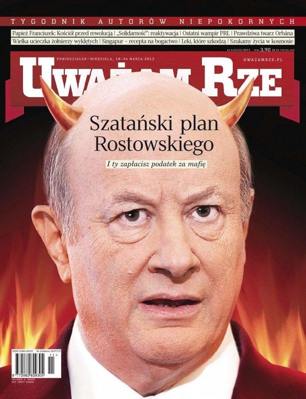 """""""Uważam Rze. Inaczej pisane"""" nr 11/2013 - Ebook (Książka PDF) do pobrania w formacie PDF"""