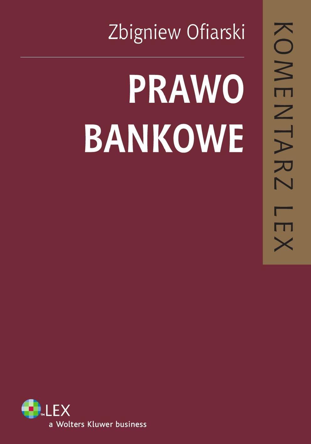 Prawo bankowe. Komentarz - Ebook (Książka PDF) do pobrania w formacie PDF