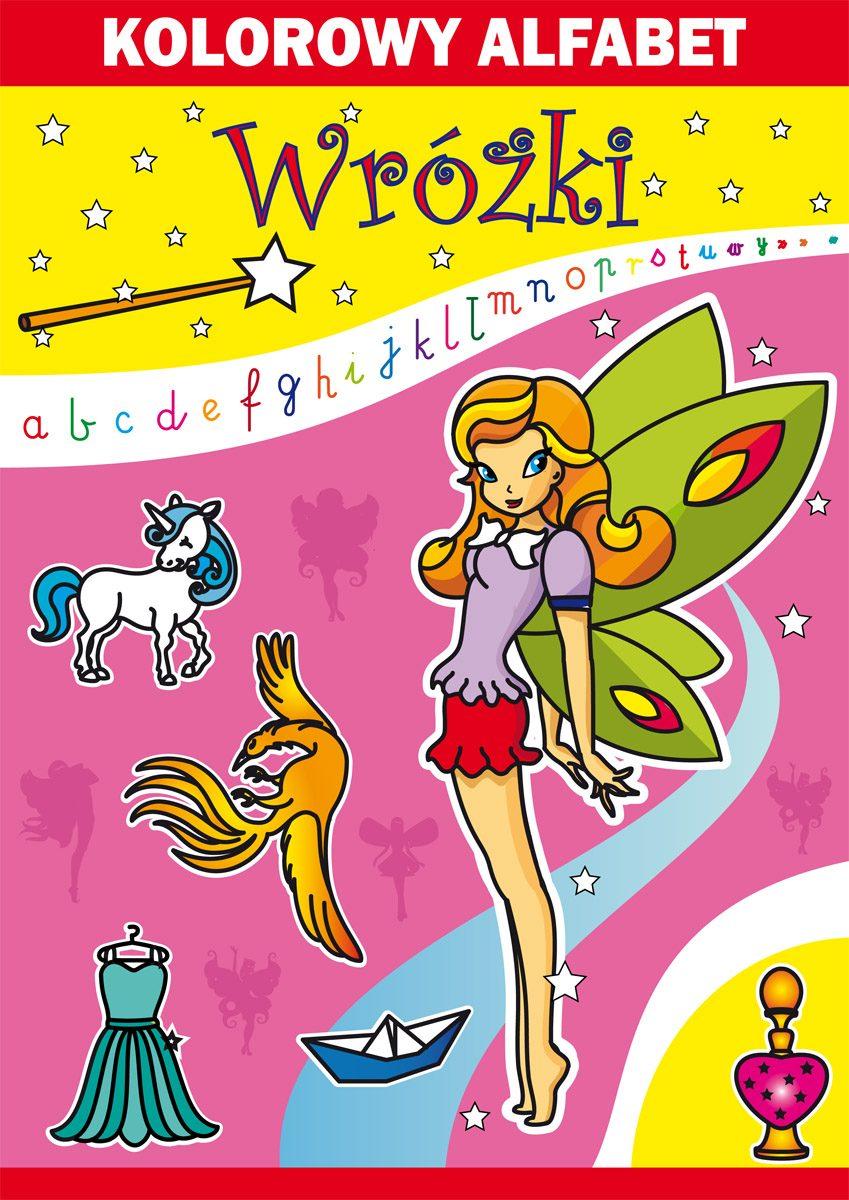 Kolorowy alfabet. Wróżki - Ebook (Książka PDF) do pobrania w formacie PDF