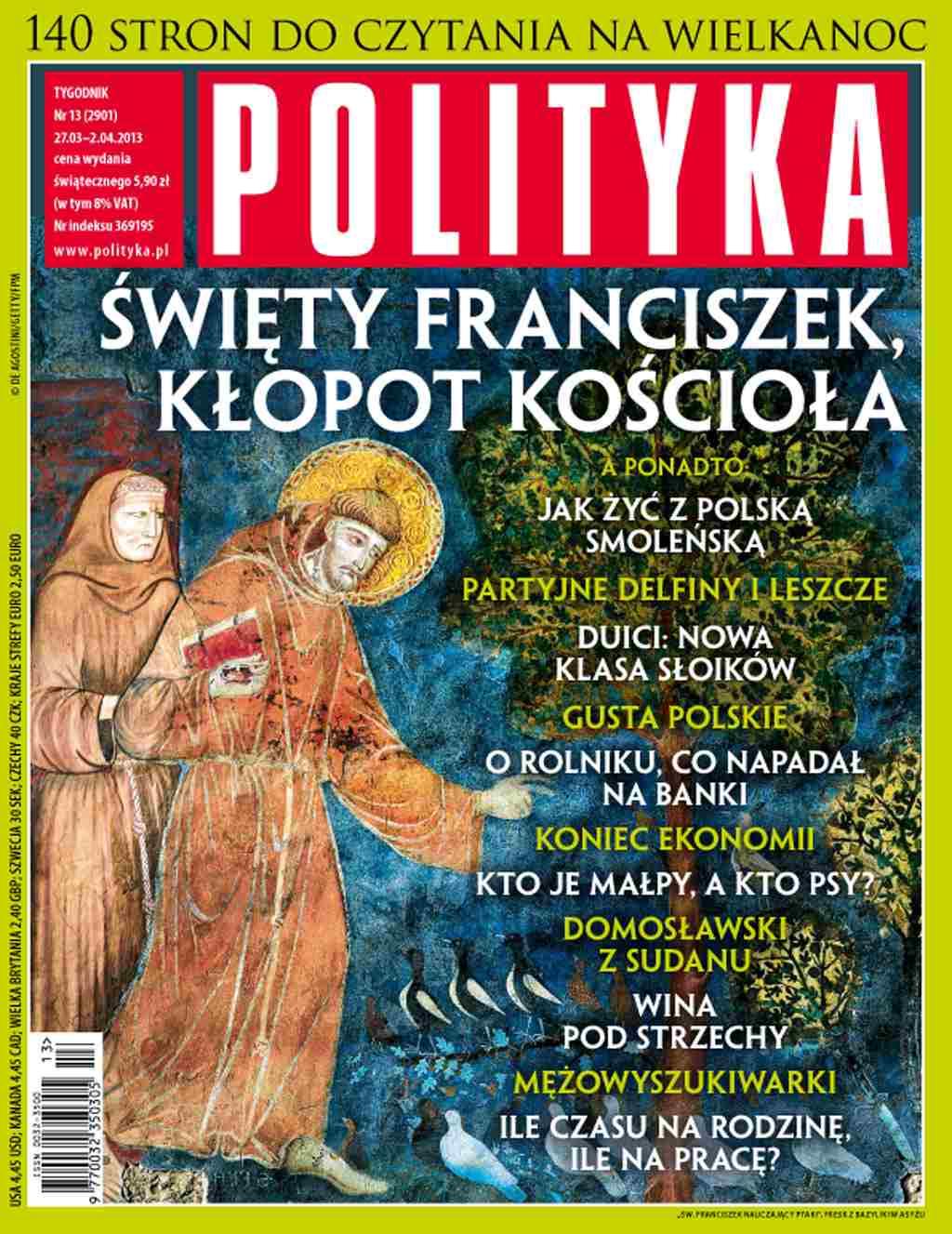 Polityka nr 13/2013 - Ebook (Książka PDF) do pobrania w formacie PDF