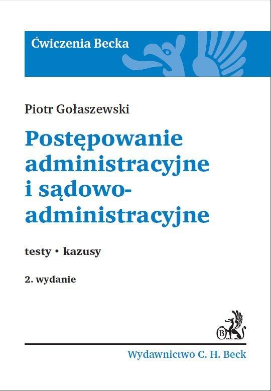 Postępowanie administracyjne i sądowoadministracyjne.Testy. Kazusy - Ebook (Książka PDF) do pobrania w formacie PDF