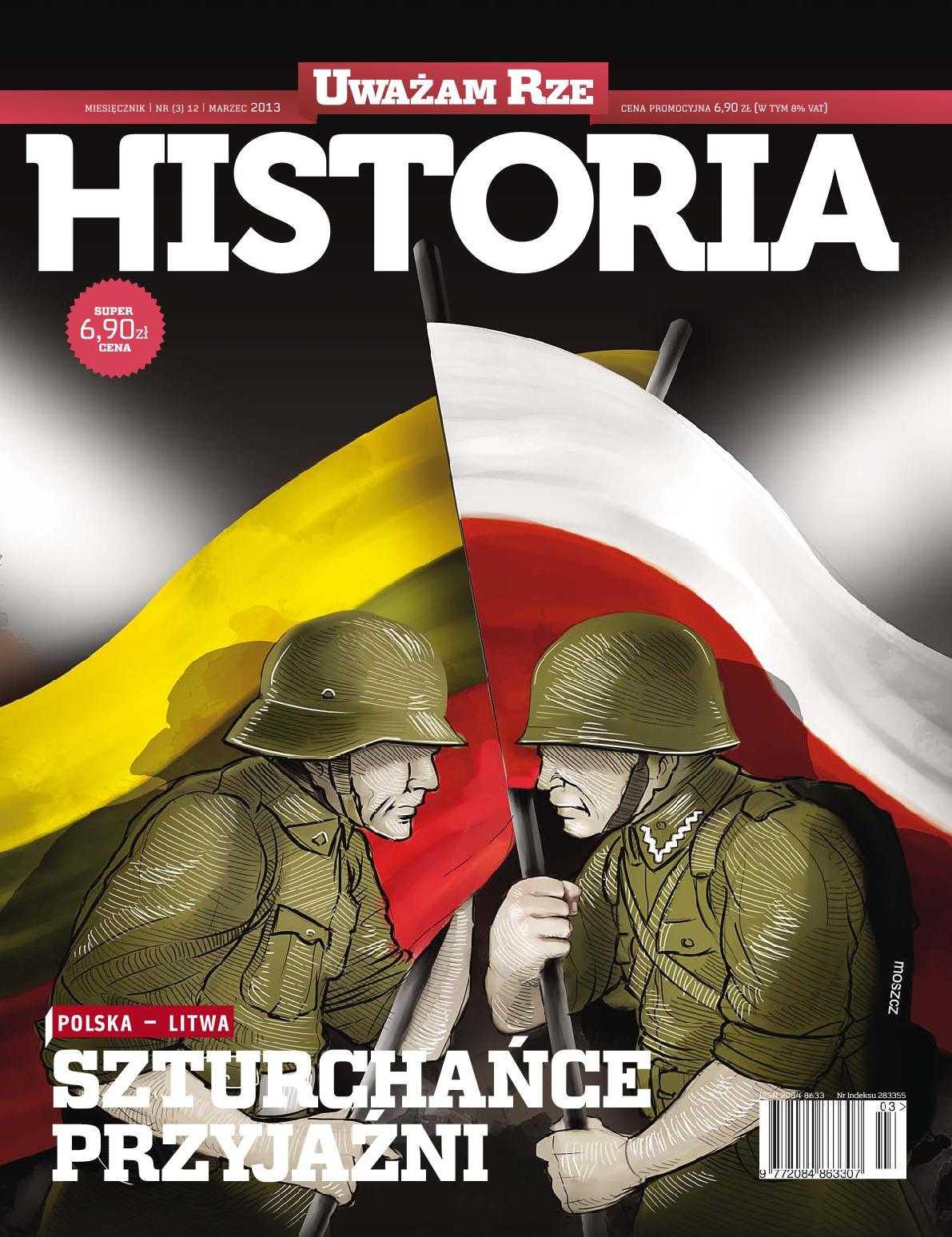 """""""Uważam Rze Historia"""" nr 3/2013 - Ebook (Książka PDF) do pobrania w formacie PDF"""