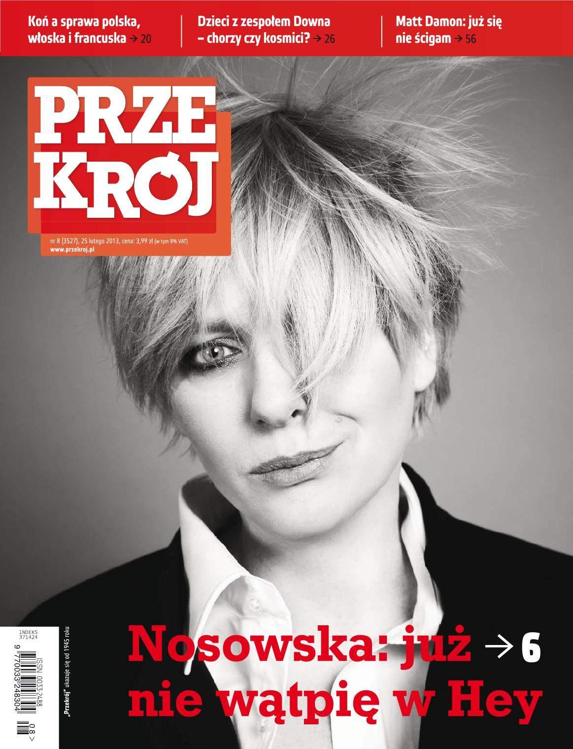 """""""Przekrój"""" nr 8/2013 - Ebook (Książka PDF) do pobrania w formacie PDF"""