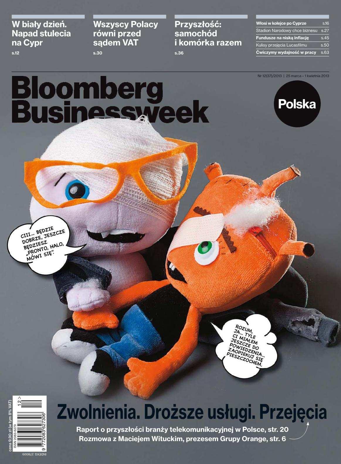 """""""Bloomberg Businessweek"""" wydanie nr 12/13 - Ebook (Książka PDF) do pobrania w formacie PDF"""