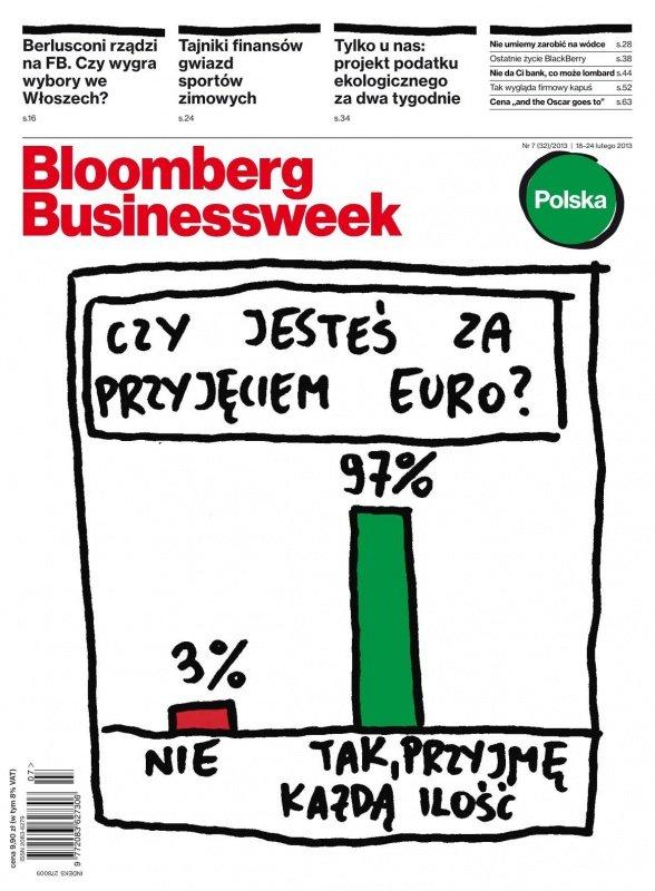 """""""Bloomberg Businessweek"""" wydanie nr 7/13 - Ebook (Książka PDF) do pobrania w formacie PDF"""