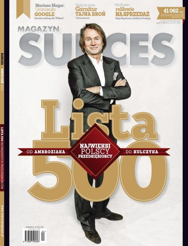 """Sukces"" nr 4/2013 - Ebook (Książka PDF) do pobrania w formacie PDF"