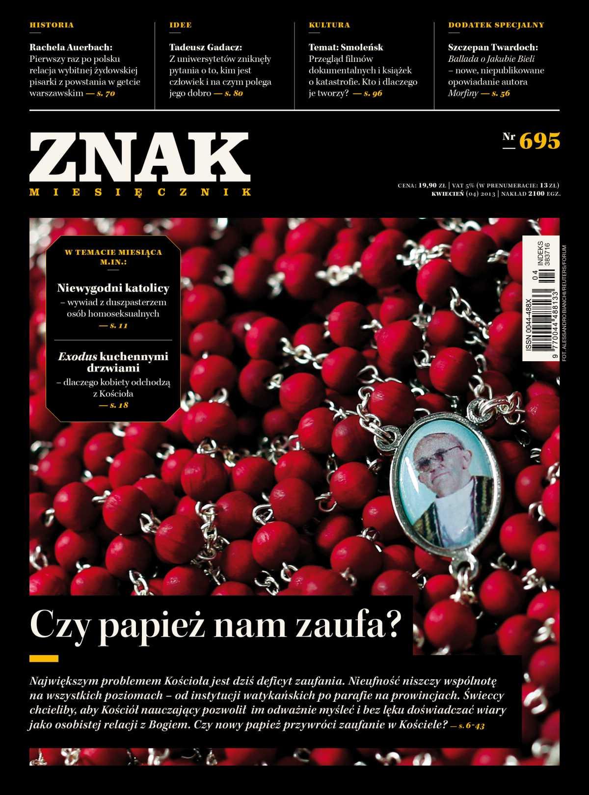 Miesięcznik Znak. Kwiecień 2013 - Ebook (Książka EPUB) do pobrania w formacie EPUB