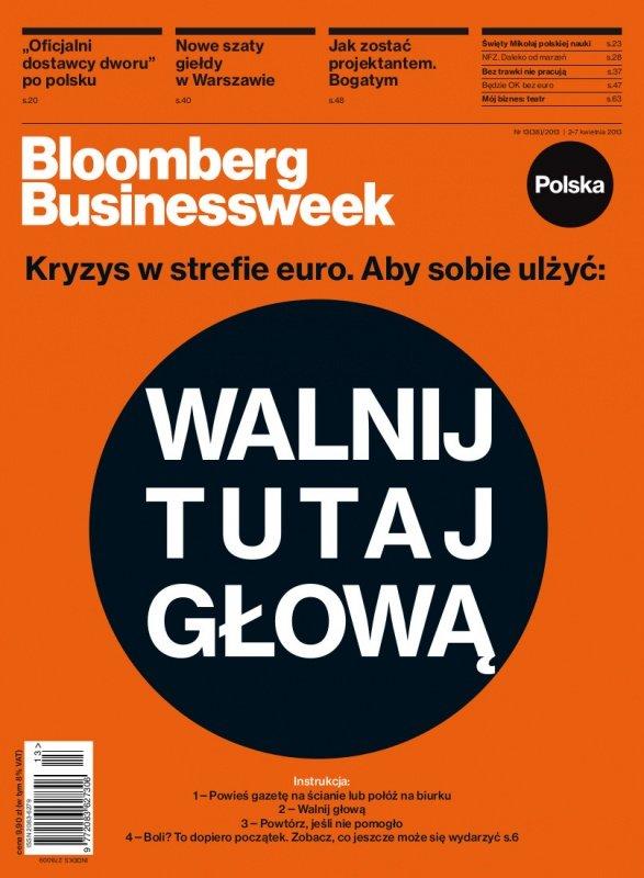 """""""Bloomberg Businessweek"""" wydanie nr 13/13 - Ebook (Książka PDF) do pobrania w formacie PDF"""
