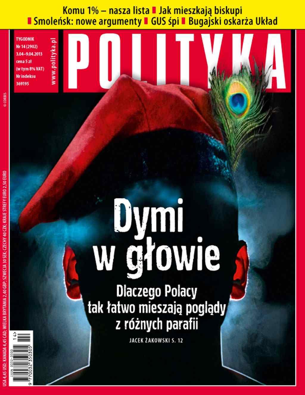 Polityka nr 14/2013 - Ebook (Książka PDF) do pobrania w formacie PDF