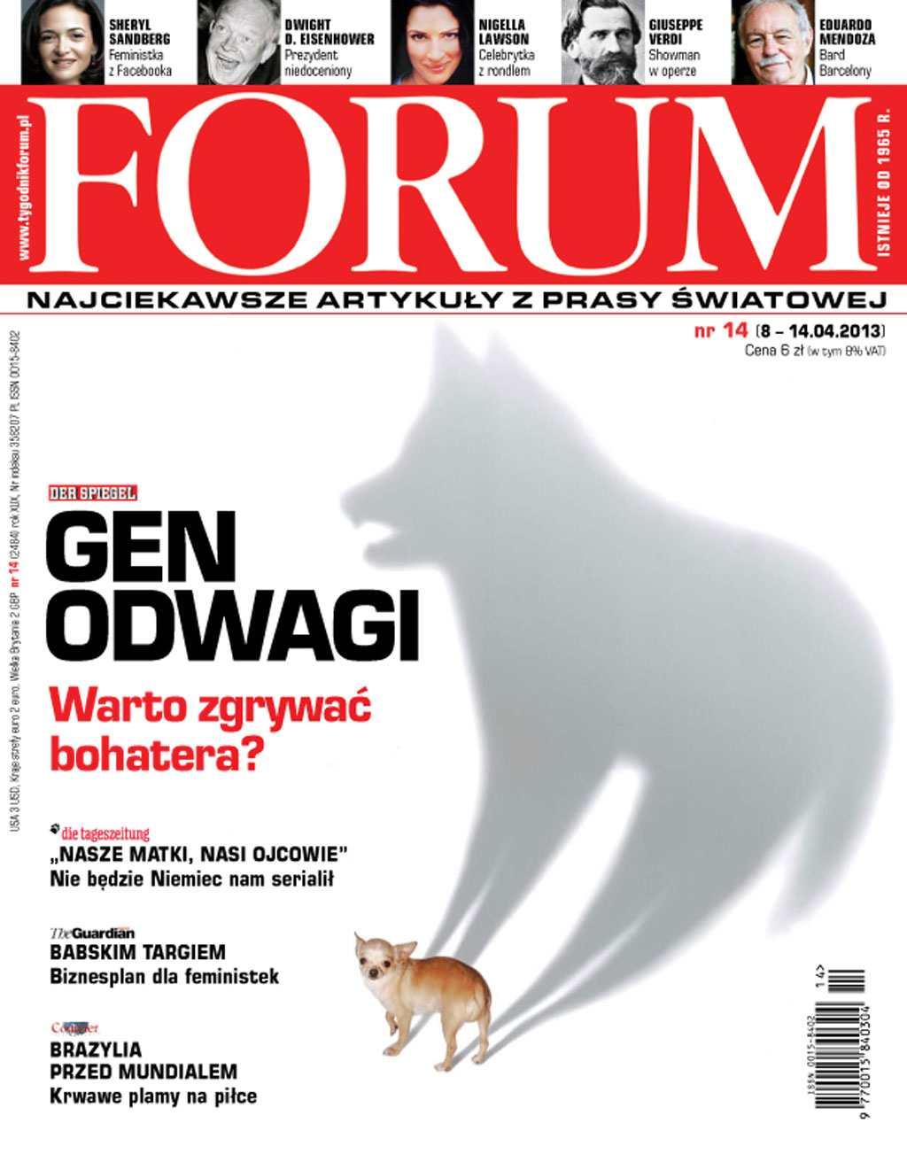 Forum nr 14/2013 - Ebook (Książka PDF) do pobrania w formacie PDF