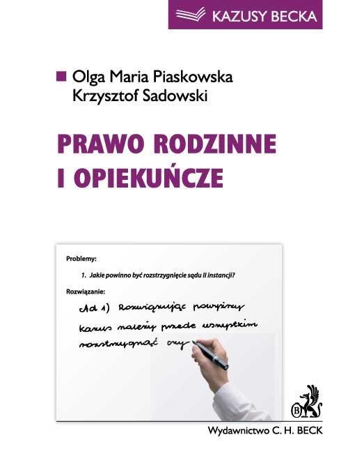 Prawo rodzinne i opiekuńcze - Ebook (Książka PDF) do pobrania w formacie PDF
