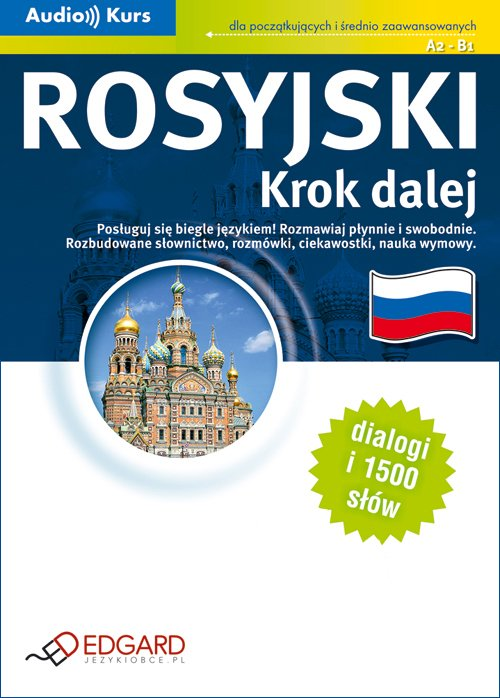 Rosyjski. Krok dalej - Audiobook (Książka audio MP3) do pobrania w całości w archiwum ZIP