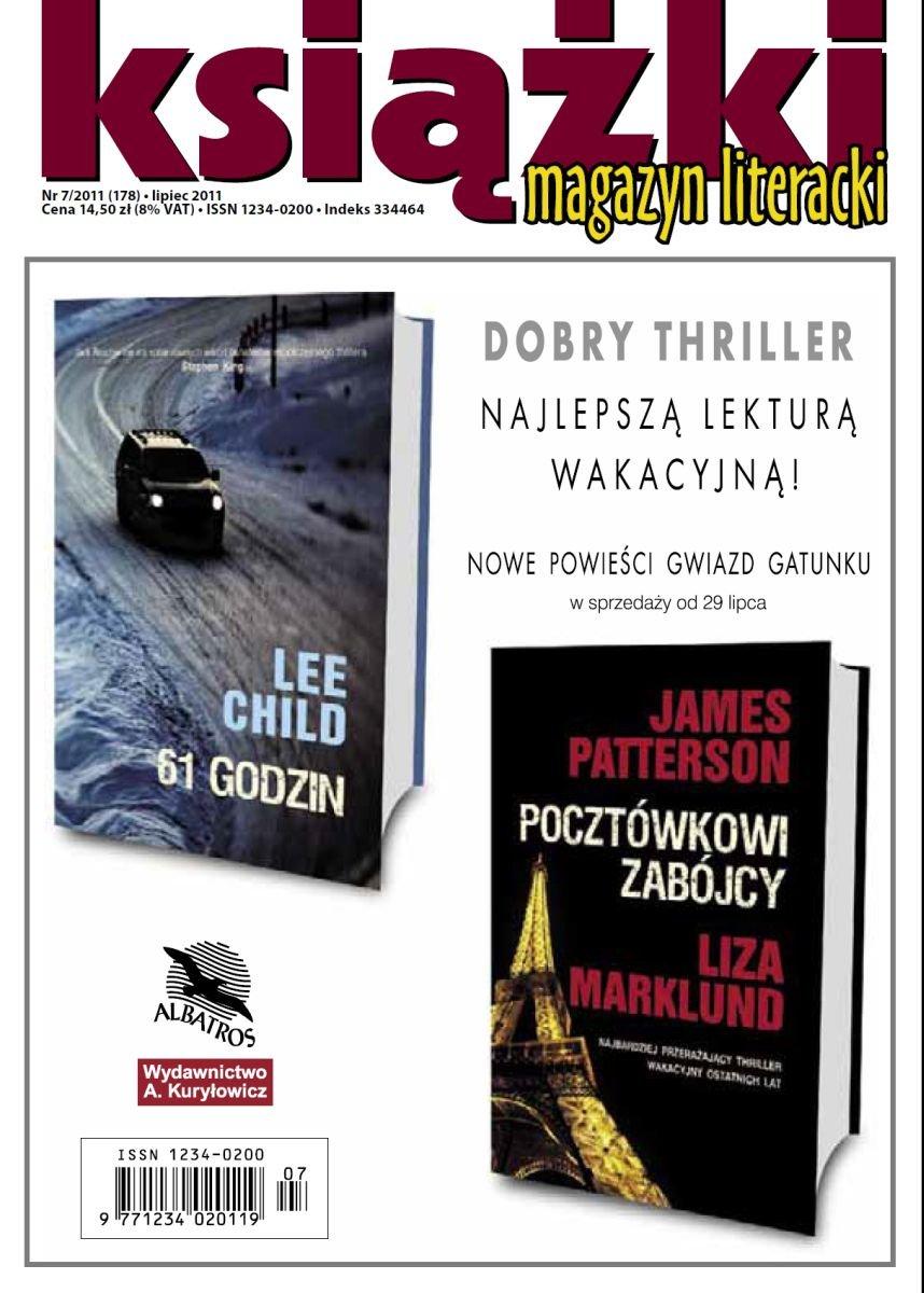 Magazyn Literacki KSIĄŻKI - nr 7/2011 (178) - Ebook (Książka PDF) do pobrania w formacie PDF