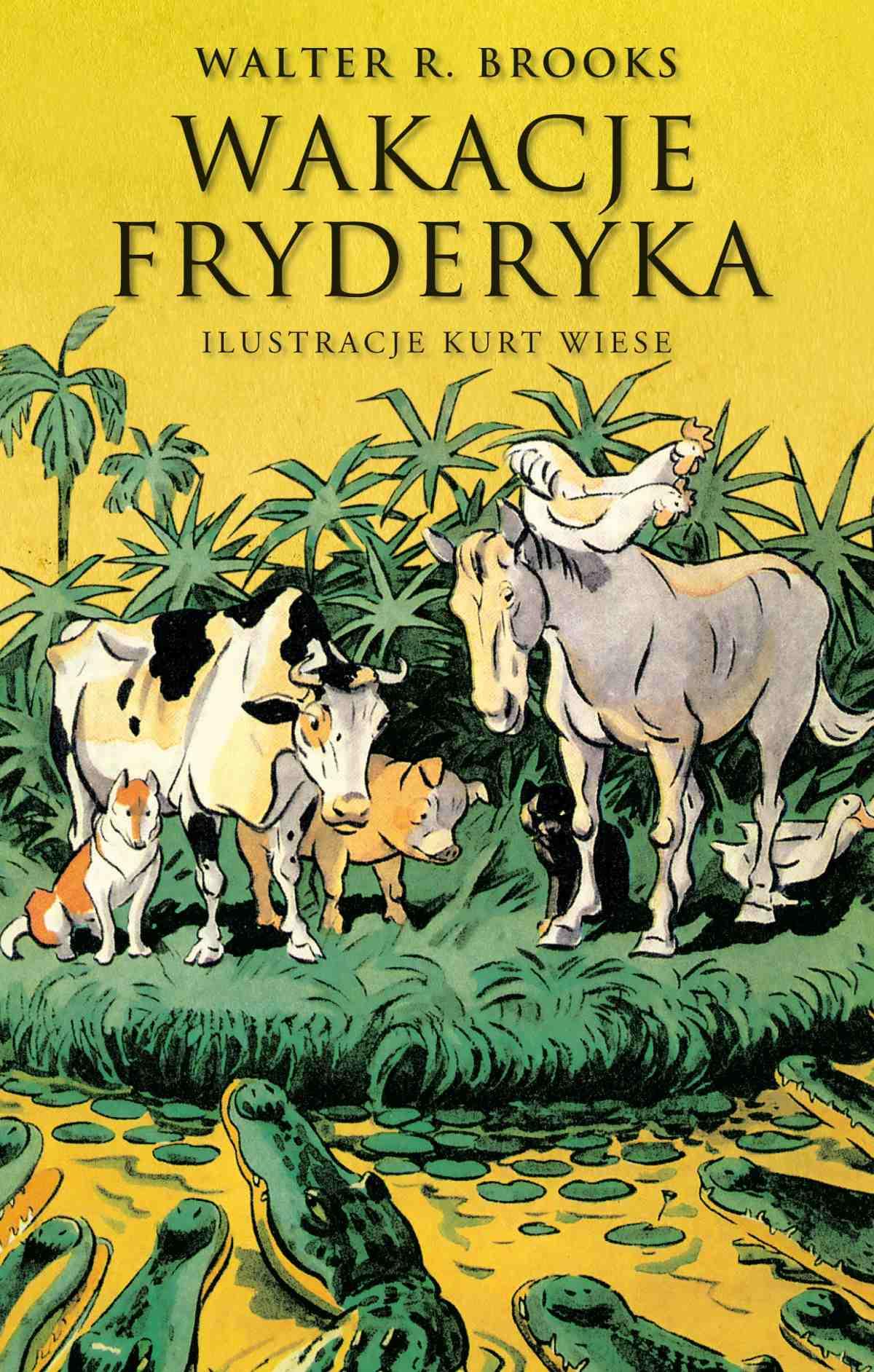 Wakacje Fryderyka - Ebook (Książka EPUB) do pobrania w formacie EPUB