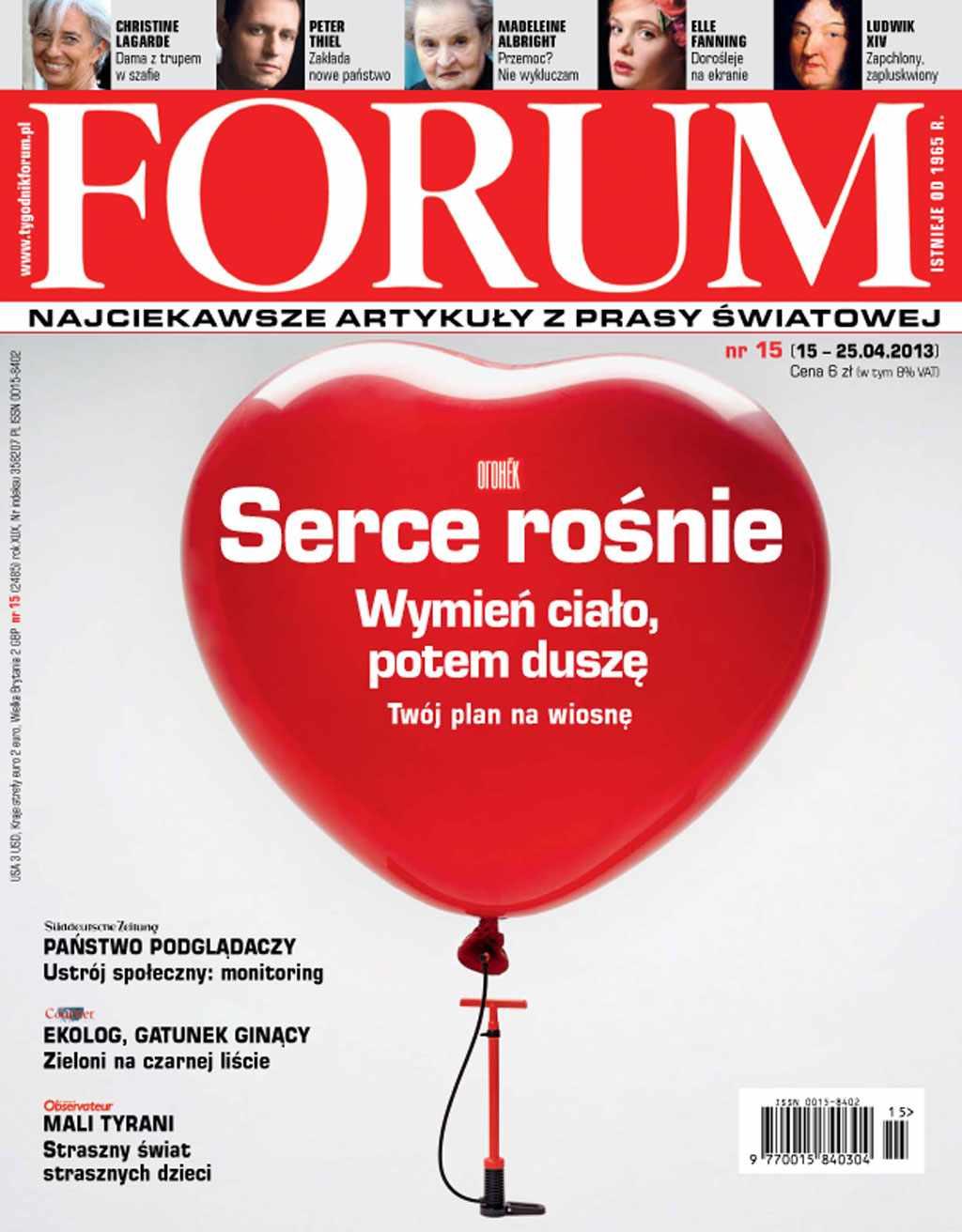 Forum nr 15/2013 - Ebook (Książka PDF) do pobrania w formacie PDF
