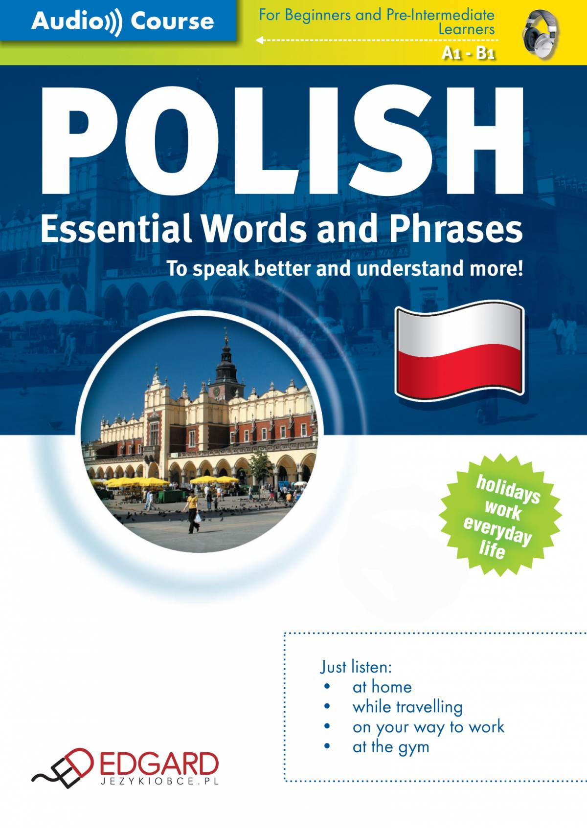 Polish Essential Words and Phrases - Audiobook (Książka audio MP3) do pobrania w całości w archiwum ZIP