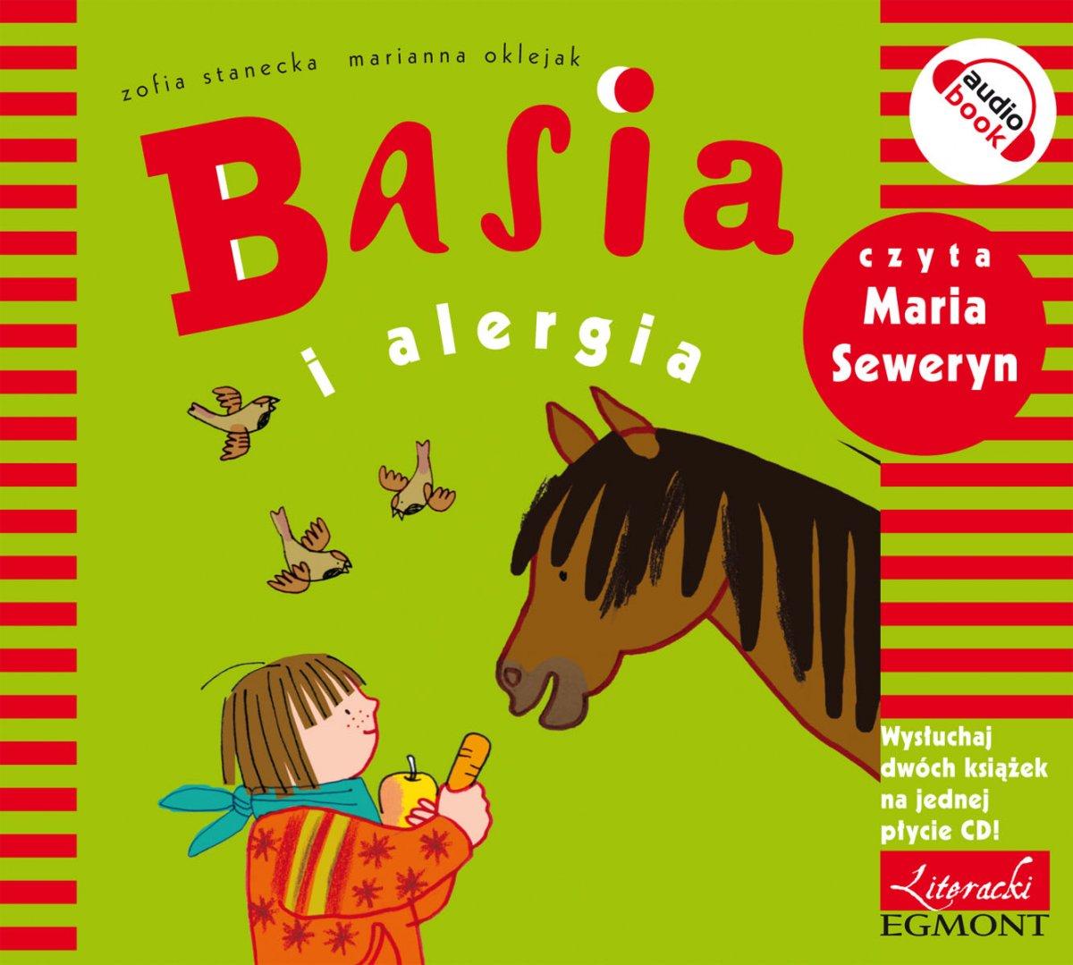 Basia i alergia - Audiobook (Książka audio MP3) do pobrania w całości w archiwum ZIP