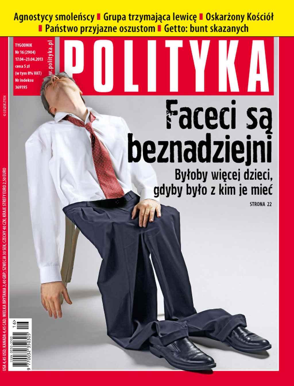 Polityka nr 16/2013 - Ebook (Książka PDF) do pobrania w formacie PDF