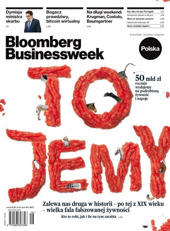 """""""Bloomberg Businessweek"""" wydanie nr 16-17/13 - Ebook (Książka PDF) do pobrania w formacie PDF"""