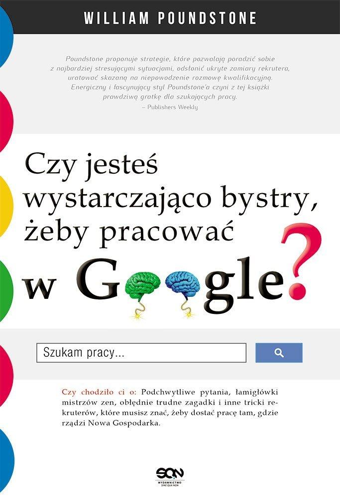 Czy jesteś wystarczająco bystry, żeby pracować w Google? - Ebook (Książka EPUB) do pobrania w formacie EPUB