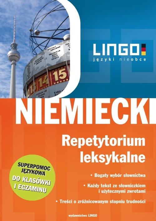 Niemiecki. Repetytorium leksykalne - Ebook (Książka PDF) do pobrania w formacie PDF