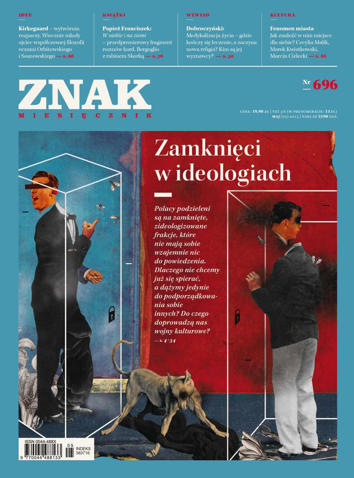 Miesięcznik Znak. Maj 2013 - Ebook (Książka EPUB) do pobrania w formacie EPUB