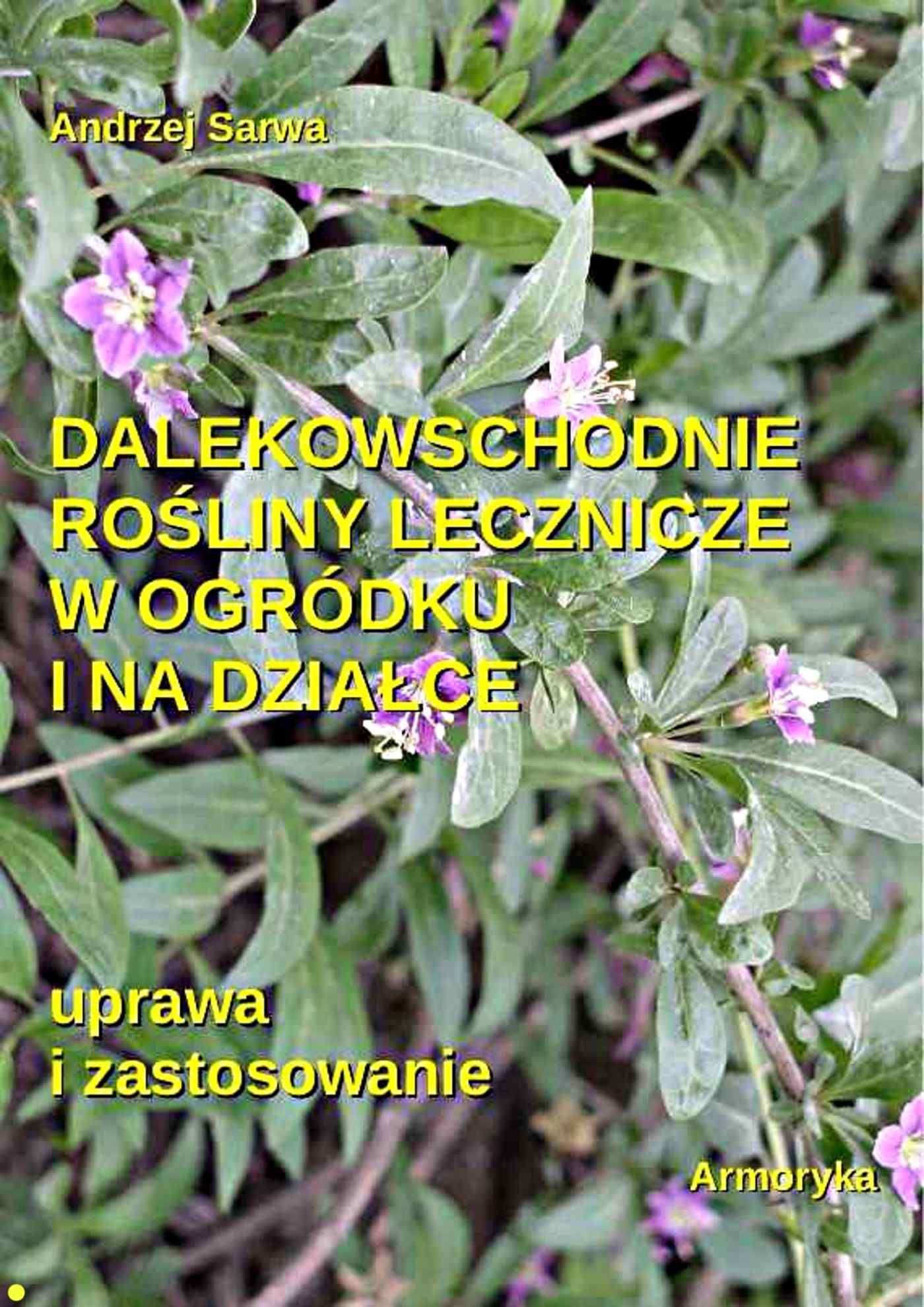 Dalekowschodnie rośliny lecznicze w ogródku i na działce - Ebook (Książka EPUB) do pobrania w formacie EPUB