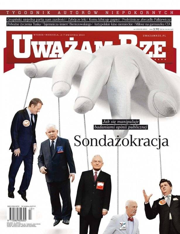 """""""Uważam Rze. Inaczej pisane"""" nr 13/2013 - Ebook (Książka PDF) do pobrania w formacie PDF"""