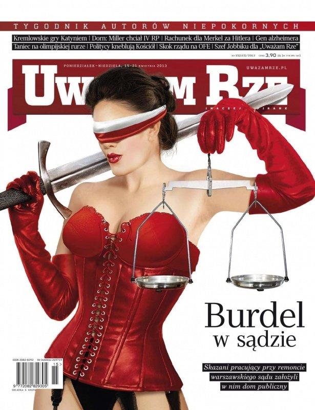 """""""Uważam Rze. Inaczej pisane"""" nr 15/2013 - Ebook (Książka PDF) do pobrania w formacie PDF"""