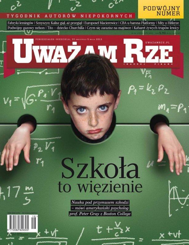 """""""Uważam Rze. Inaczej pisane"""" nr 16-17/2013 - Ebook (Książka PDF) do pobrania w formacie PDF"""