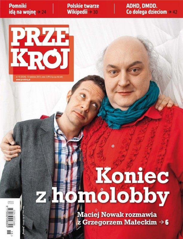 """""""Przekrój"""" nr 15/2013 - Ebook (Książka PDF) do pobrania w formacie PDF"""