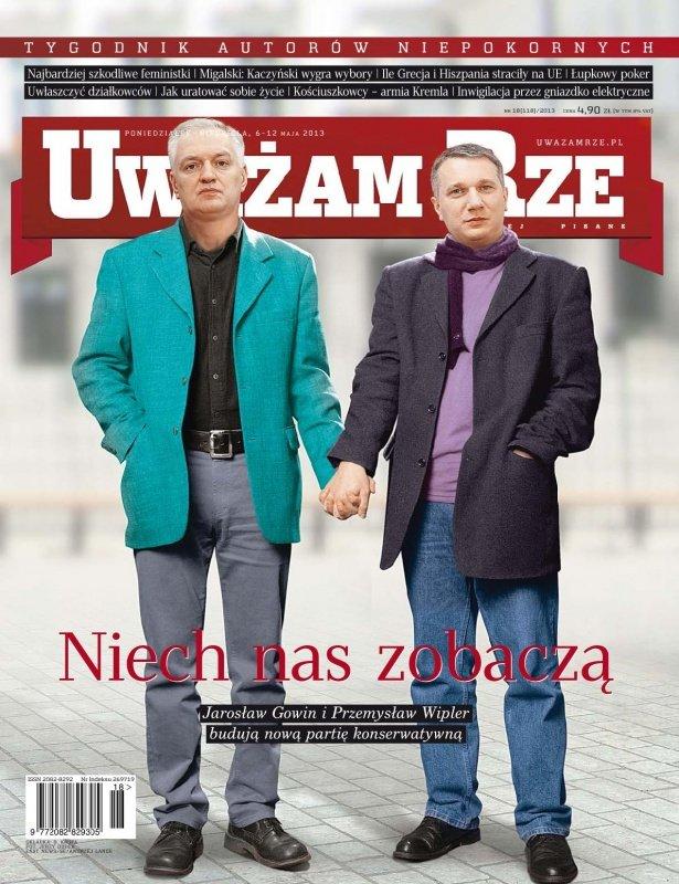 """""""Uważam Rze. Inaczej pisane"""" nr 18/2013 - Ebook (Książka PDF) do pobrania w formacie PDF"""
