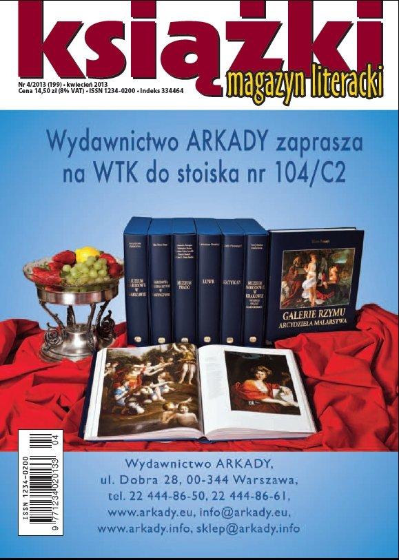 Magazyn Literacki KSIĄŻKI - nr 4/2013 (199) - Ebook (Książka PDF) do pobrania w formacie PDF