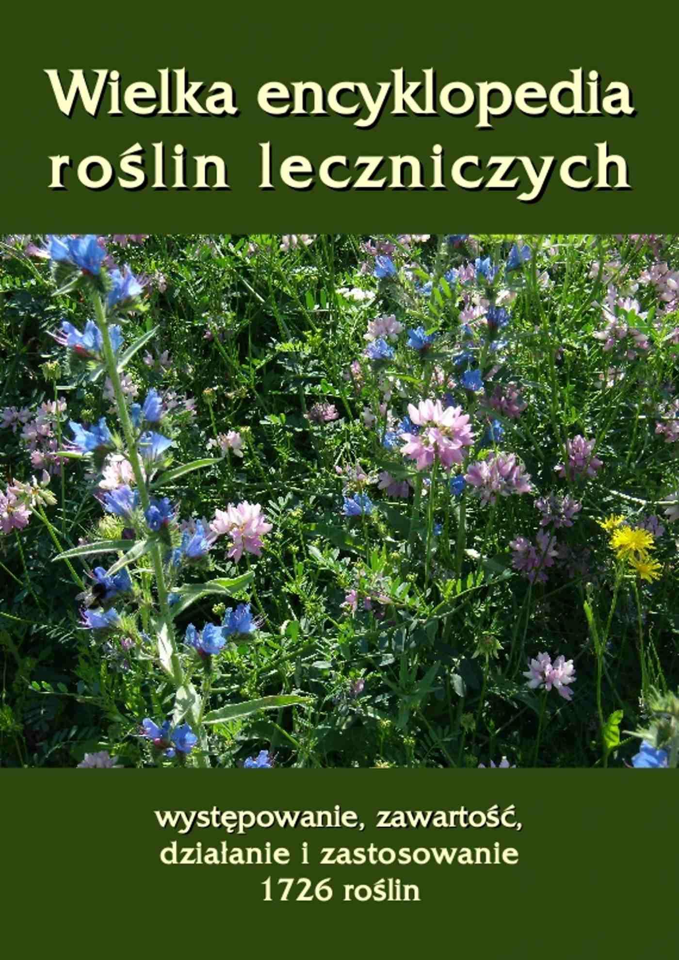 Wielka encyklopedia roślin leczniczych. Występowanie, zawartość, działanie i zastosowanie 1726 roślin - Ebook (Książka EPUB) do pobrania w formacie EPUB