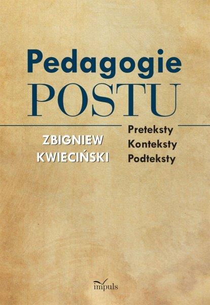Pedagogie postu - Ebook (Książka EPUB) do pobrania w formacie EPUB