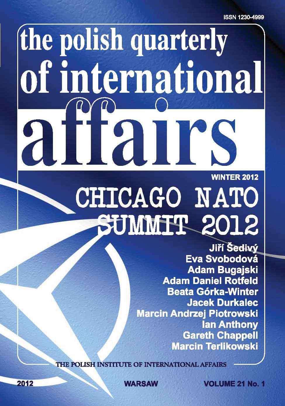 The Polish Quarterly of International Affairs 1/2012 - Ebook (Książka PDF) do pobrania w formacie PDF