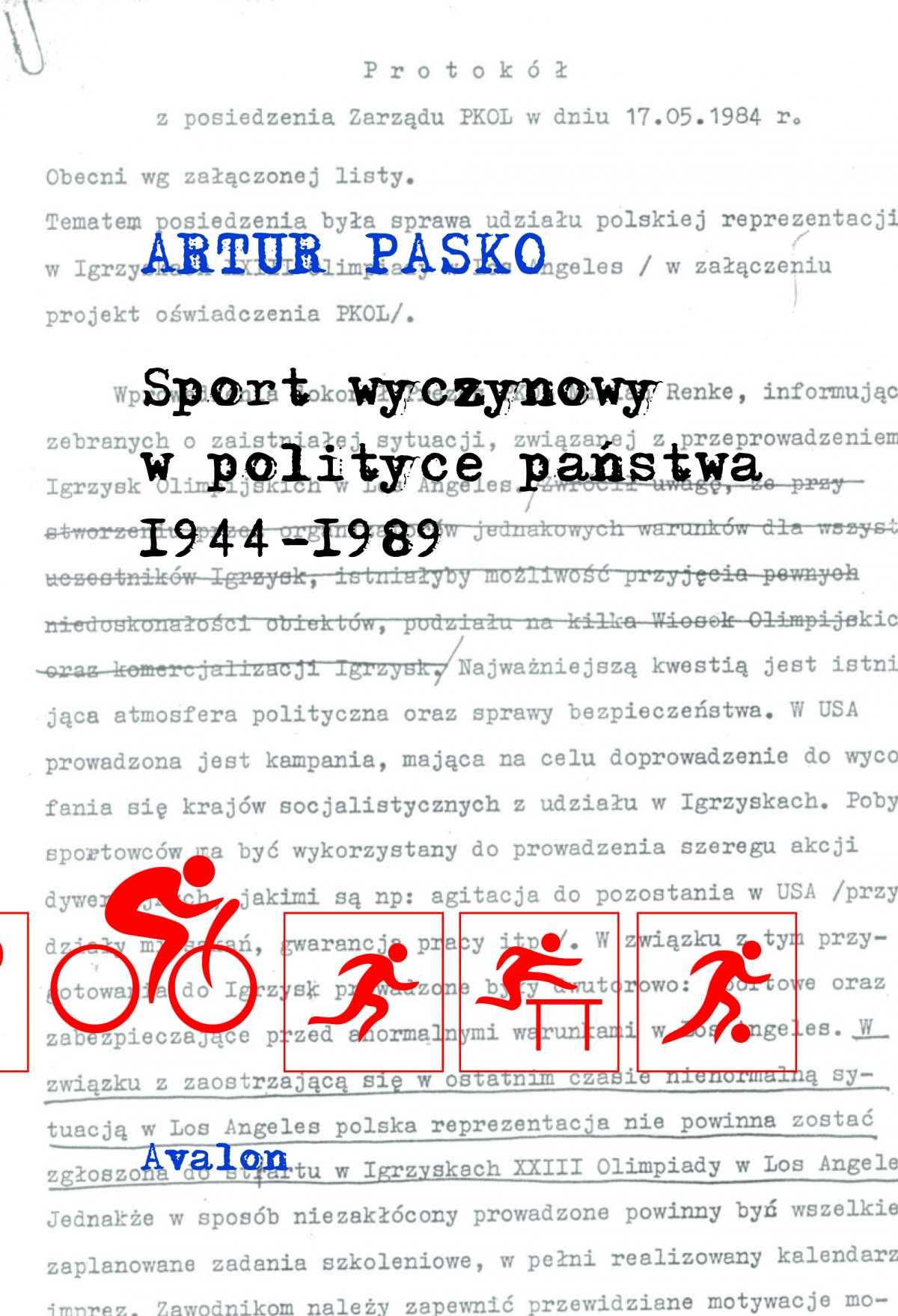 Sport wyczynowy w polityce państwa 1944-1989 - Ebook (Książka PDF) do pobrania w formacie PDF