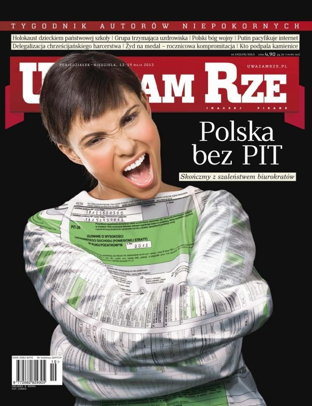 """""""Uważam Rze. Inaczej pisane"""" nr 19/2013 - Ebook (Książka PDF) do pobrania w formacie PDF"""