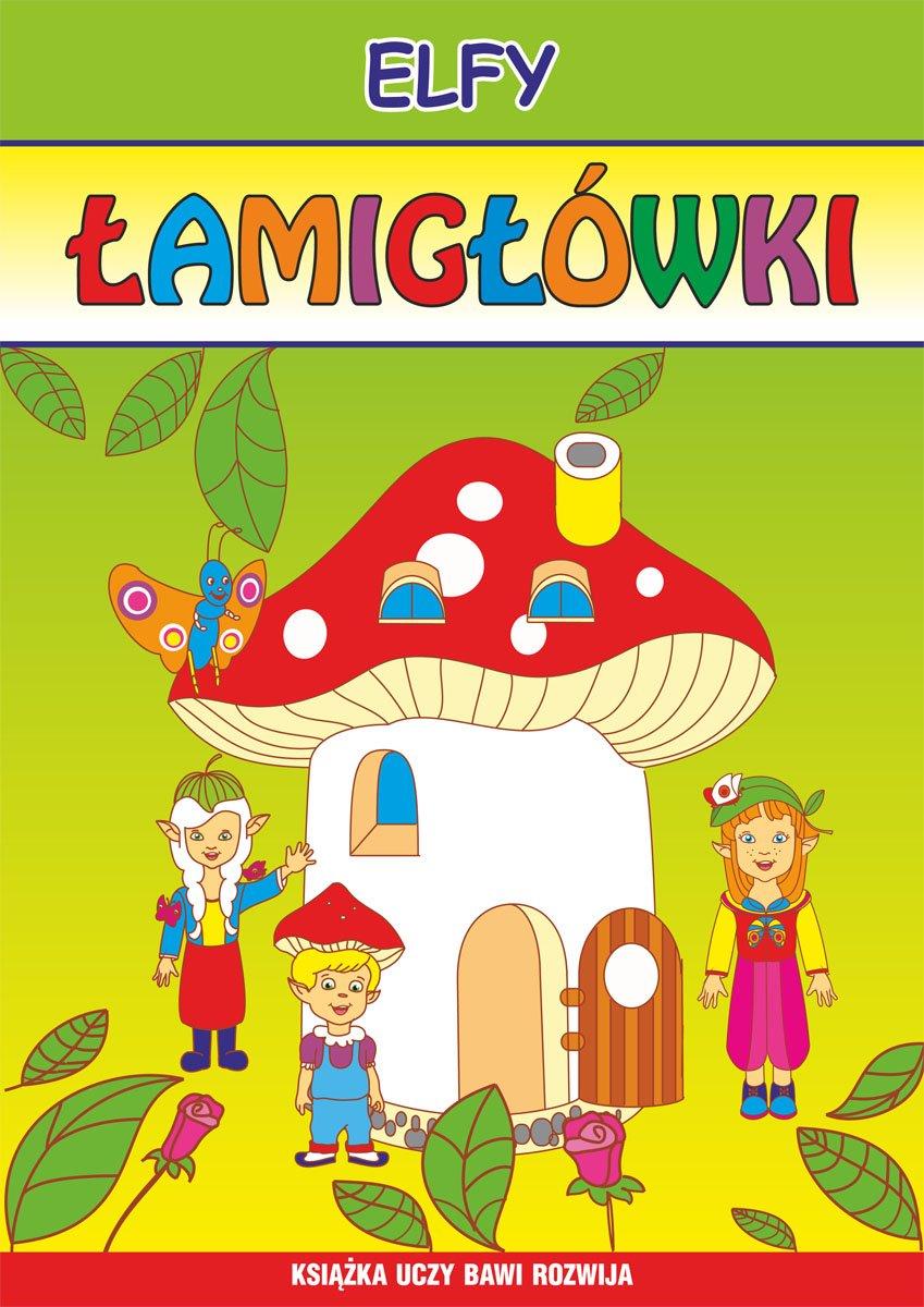 Elfy. Łamigłówki - Ebook (Książka PDF) do pobrania w formacie PDF