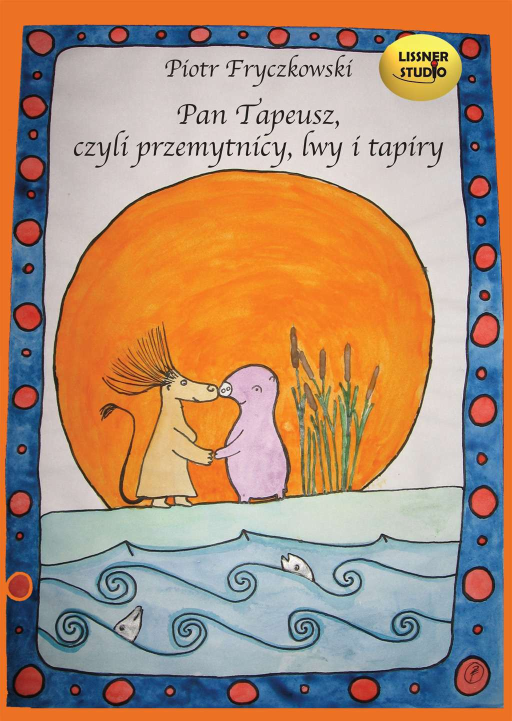 Pan Tapeusz, czyli przemytnicy, lwy i tapiry - Audiobook (Książka audio MP3) do pobrania w całości w archiwum ZIP