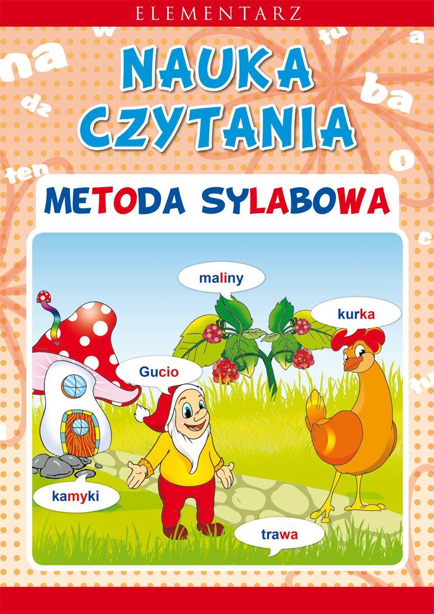 Nauka czytania. Metoda sylabowa. Elementarz - Ebook (Książka PDF) do pobrania w formacie PDF