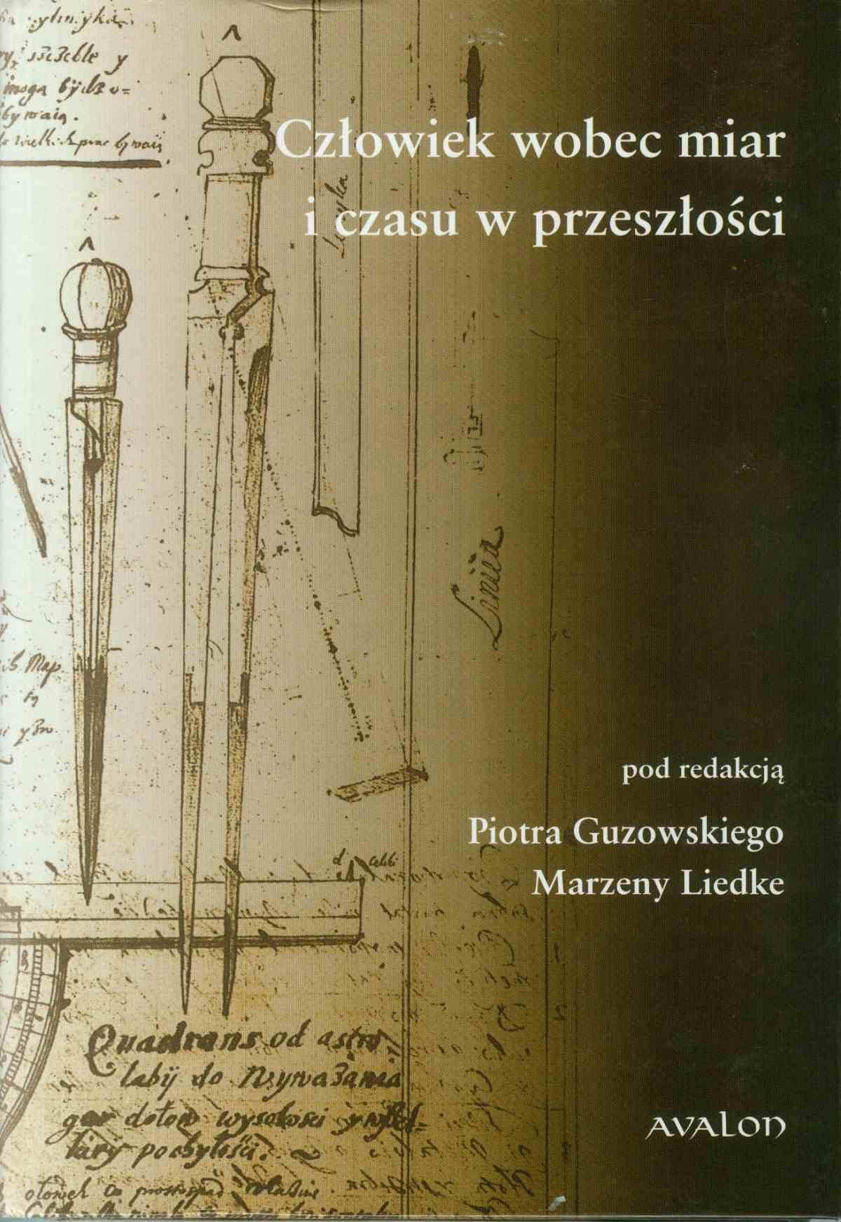 Człowiek wobec miar i czasu w przeszłości - Ebook (Książka PDF) do pobrania w formacie PDF